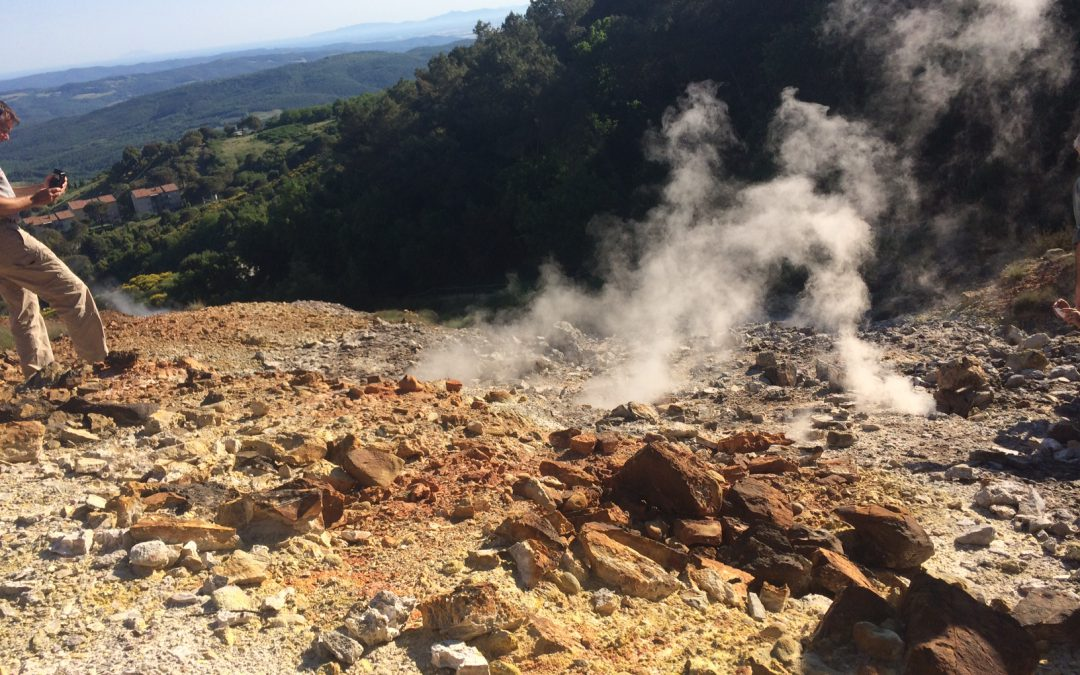 Geothermal field trip Italy was a great success! (June 3rd, 2017)